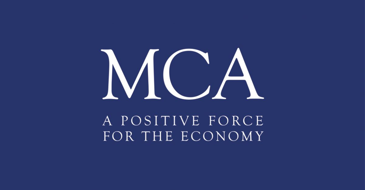 We're now members of the Management Consultancies Association (MCA).