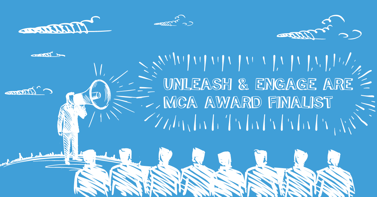 We're a shortlisted finalist at the MCA Awards